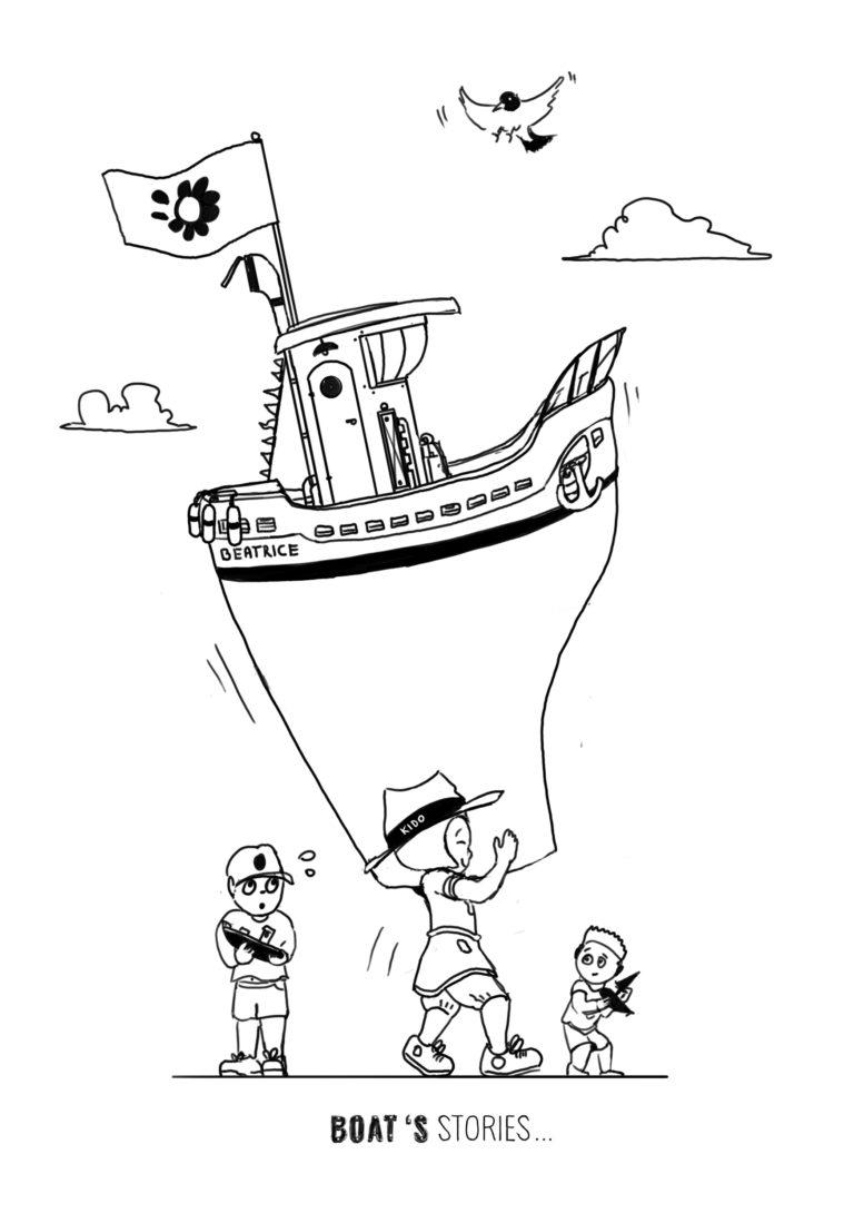 Boat's stories | Trait