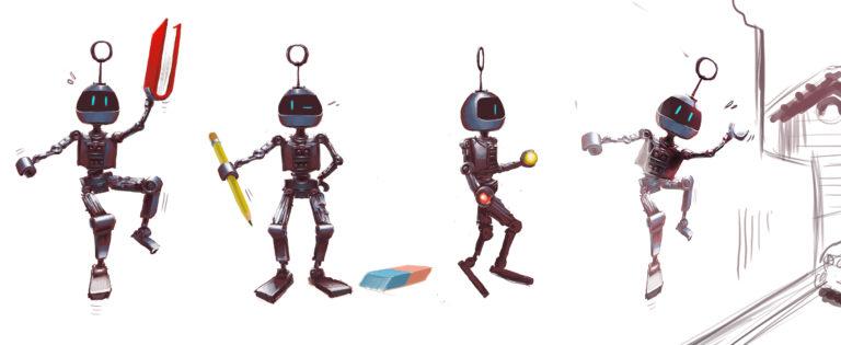 Diego et le petit robot N°3 | Collection el mundo fantastico