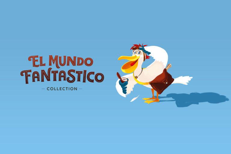 Gabo le pélican N°2 | Collection el mundo fantastico